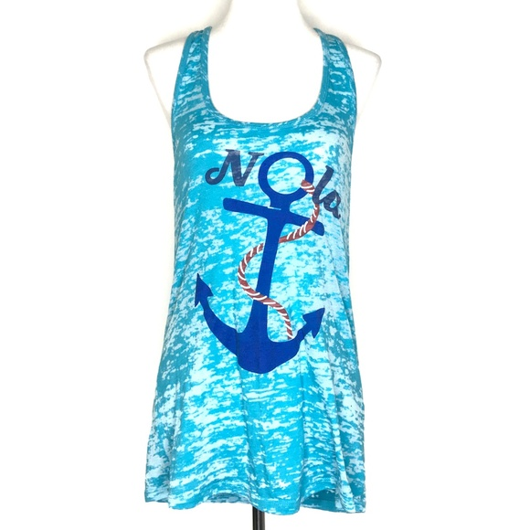 Next Level Apparel Tops - Next Level Apparel Nola Anchor Tank Top A140368